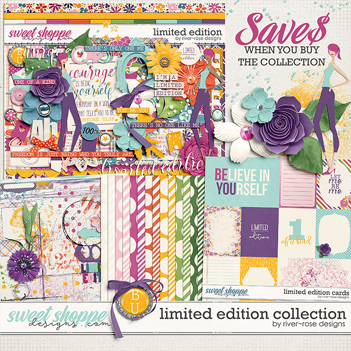 Limited Edition Collection by River Rose Designs