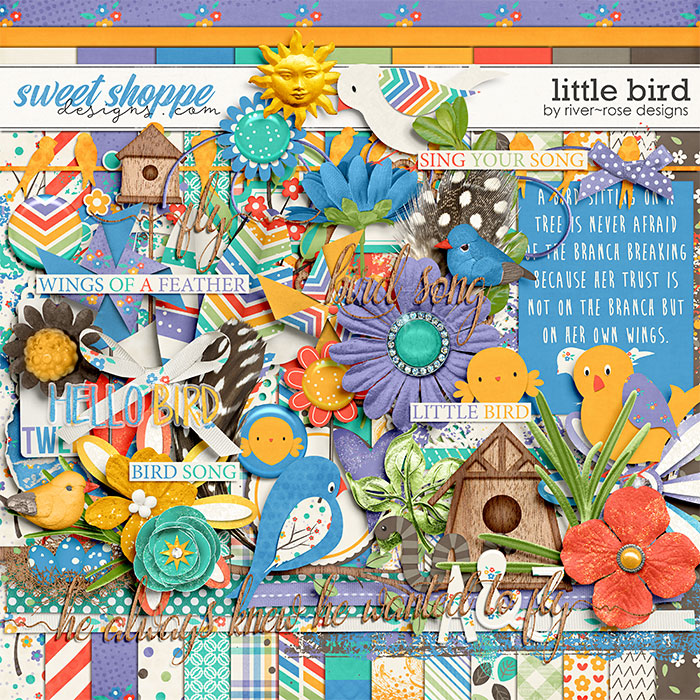 Little Bird by River Rose Designs