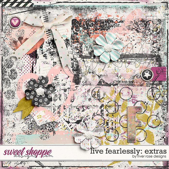 Live Fearlessly: Extras by River Rose Designs