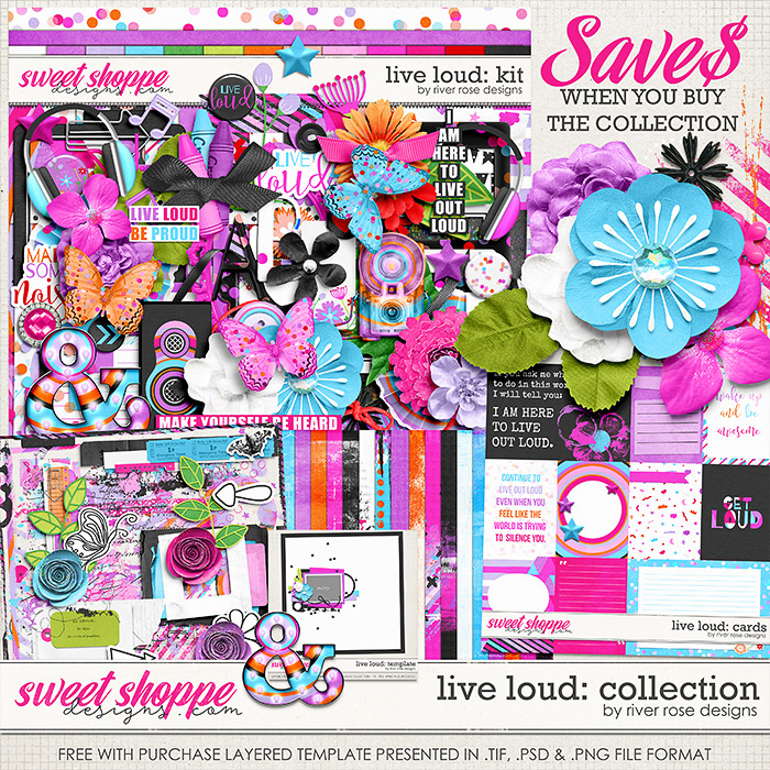 Live Loud: Collection + FWP by River Rose Designs