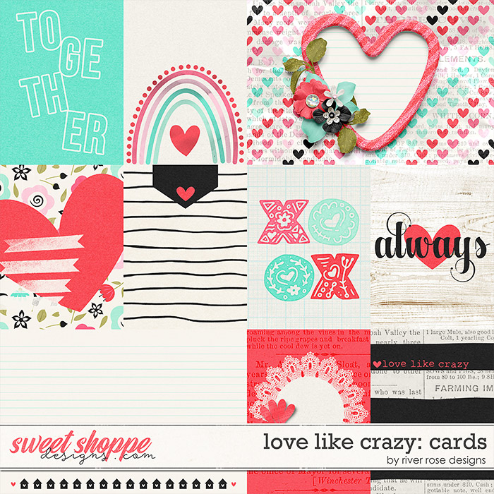 Love Like Crazy: Cards by River Rose Designs