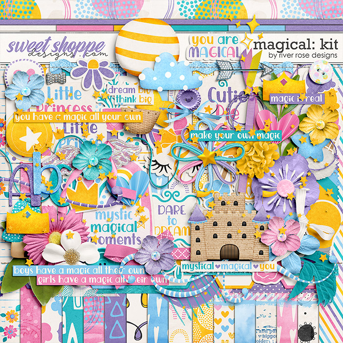 Magical: kit by River Rose Designs