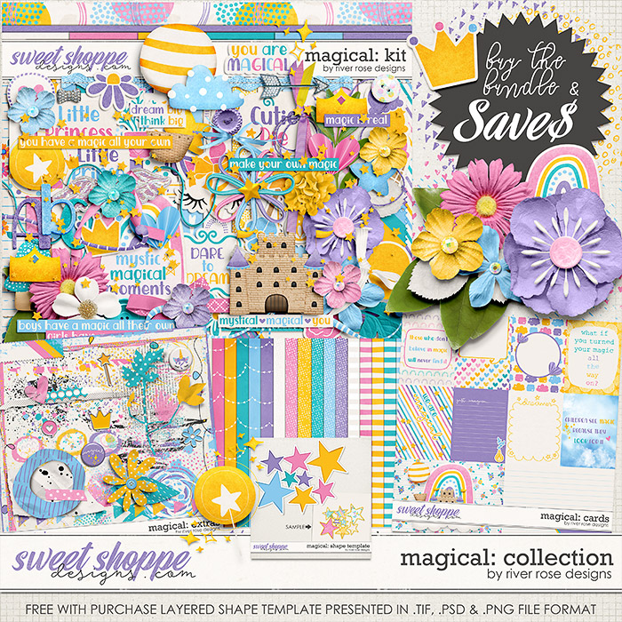 Magical: Collection by River Rose Designs