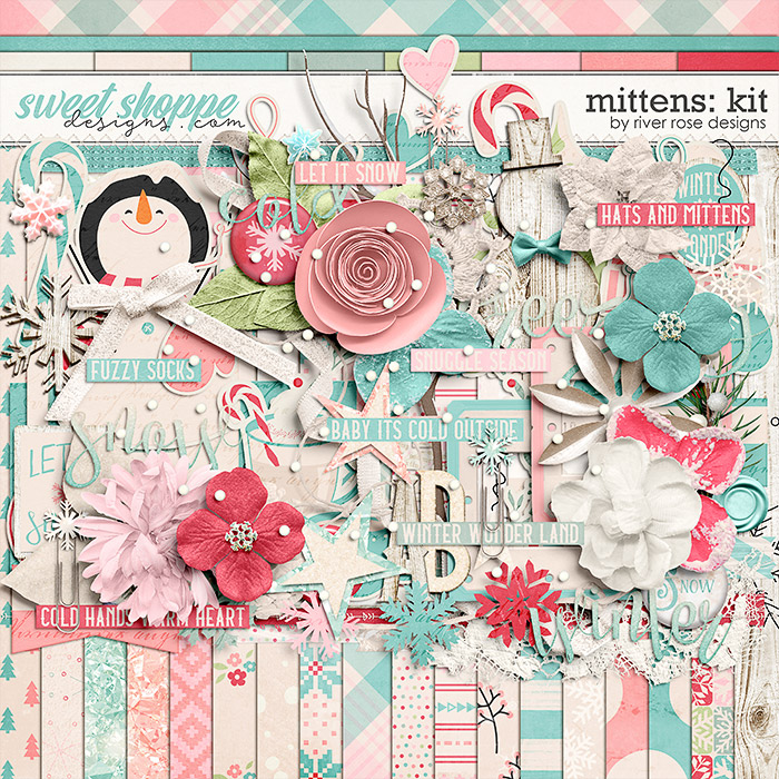 Mittens: Kit by River Rose Designs