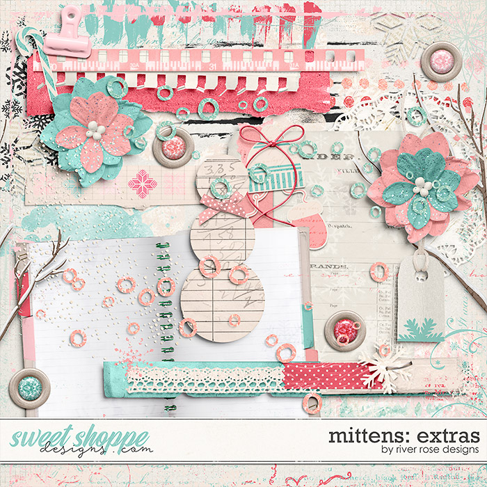 Mittens: Extras by River Rose Designs