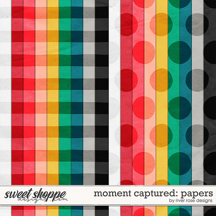 Moment Captured: Papers by River Rose Designs