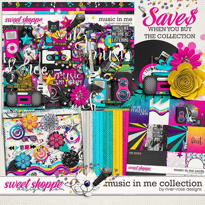 Music in Me Collection by River Rose Designs