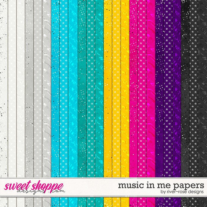 Music in Me Papers by River Rose Designs