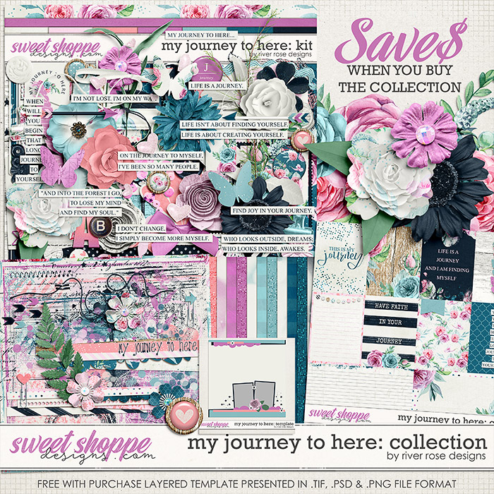My Journey to Here: Collection + FWP by River Rose Designs