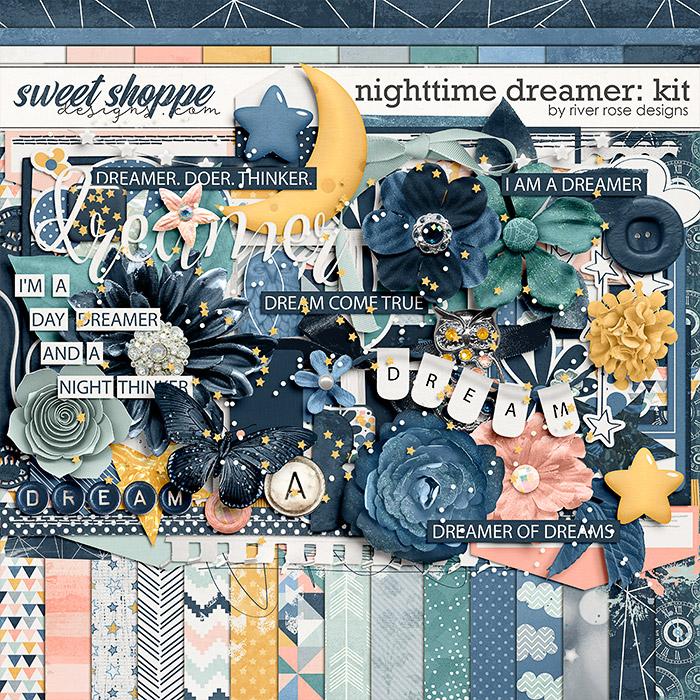 Nighttime Dreamer: Kit by River Rose Designs