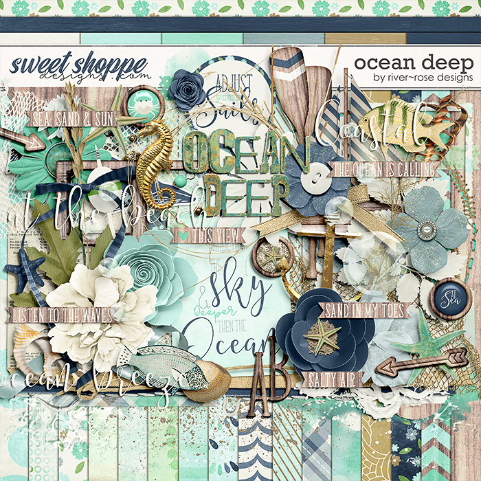 Ocean Deep Kit by River Rose Designs
