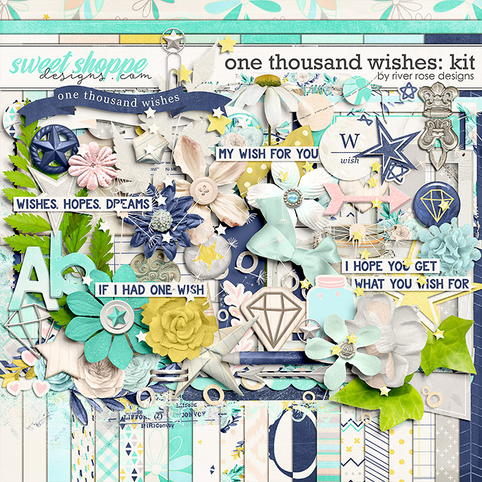 One Thousand Wishes: Kit by River Rose Designs