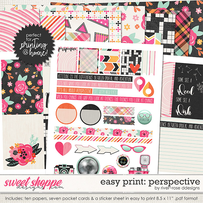Easy Print: Perspective by River Rose Designs