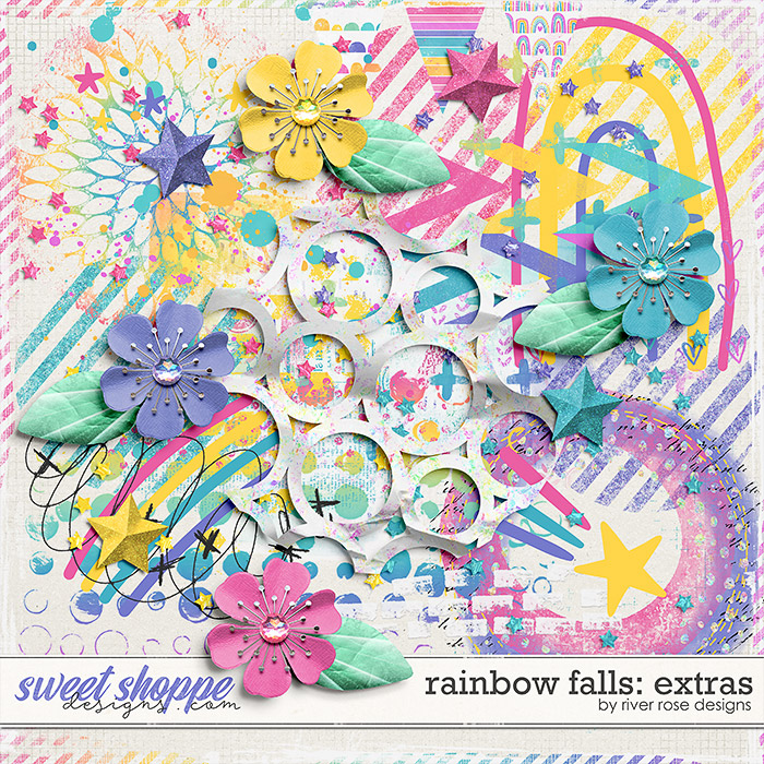 Rainbow Falls: Extras by River Rose Designs