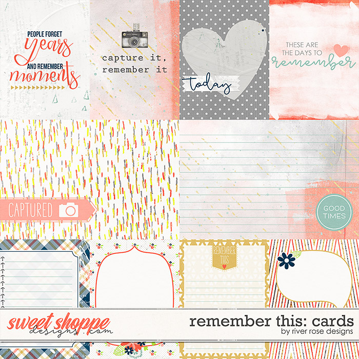 Remember This: Cards by River Rose Deisgns