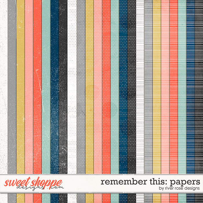 Remember This: Papers by River Rose Designs