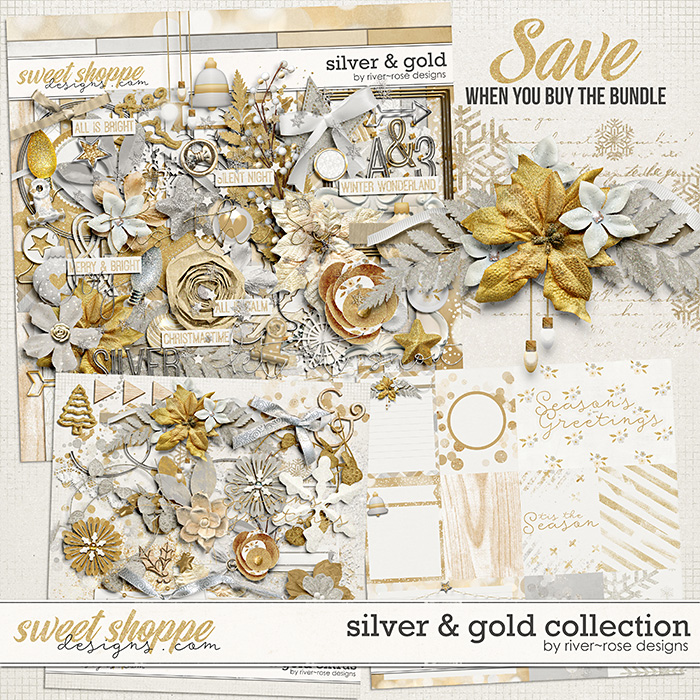 Silver & Gold Collection by River Rose Designs