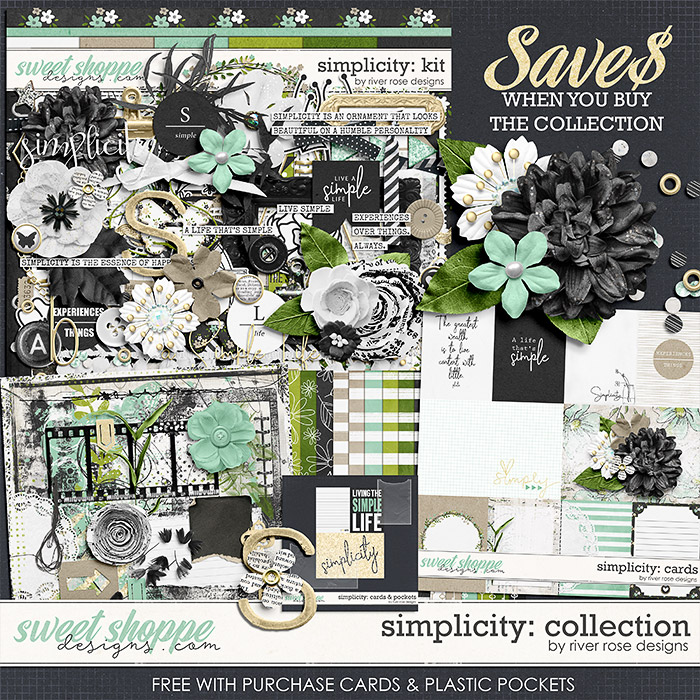Simplicity: Collection + FWP by River Rose Designs