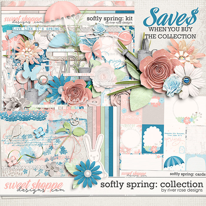 Softly Spring: Collection by River Rose Designs