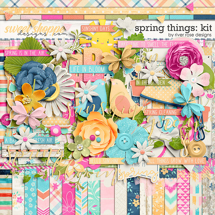 Spring Things: Kit by River Rose Designs