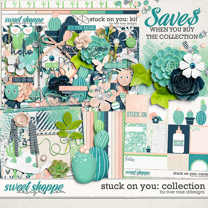 Stuck on You Collection by River Rose Designs