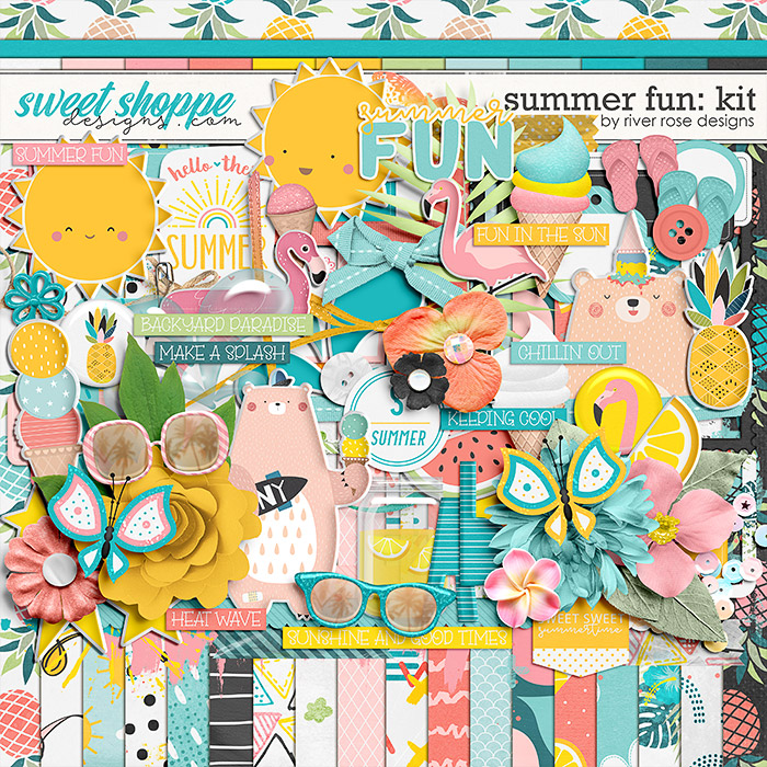 Summer Fun: Kit by River Rose Designs