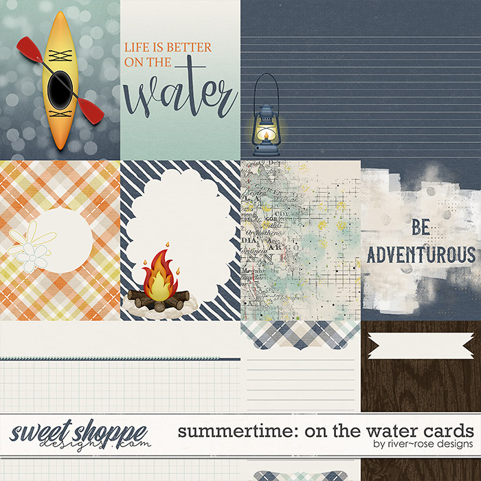 Summertime: On the Water Cards by River Rose Designs