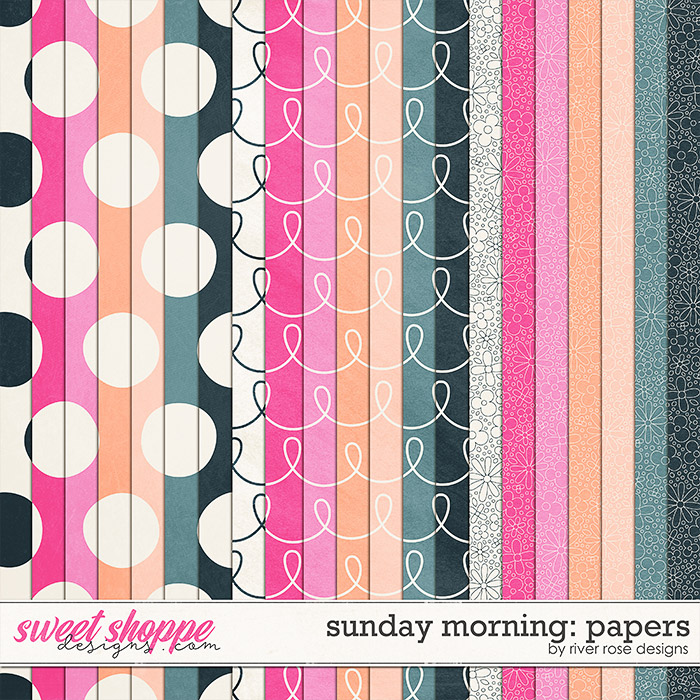 Sunday Morning: Papers by River Rose Designs
