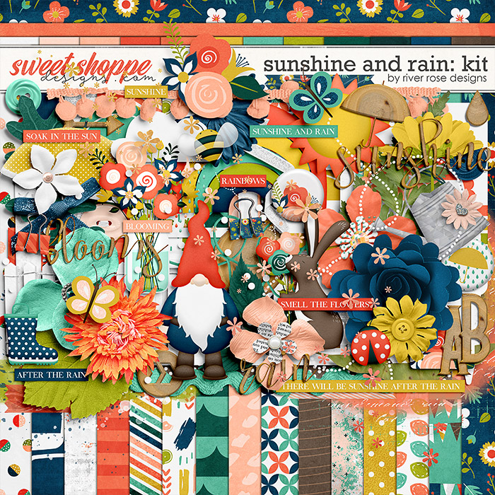 Sunshine and Rain: Kit by River Rose Designs