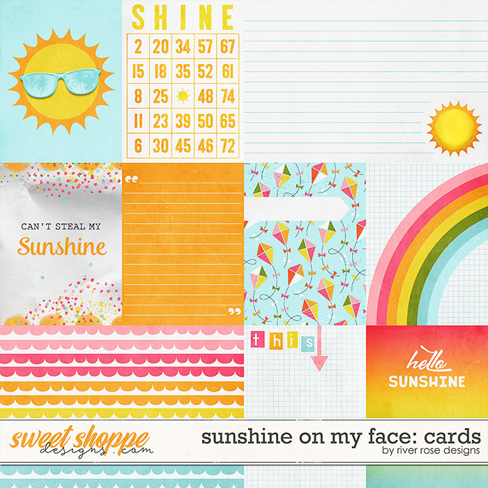 Sunshine on my Face: Cards by River Rose Designs