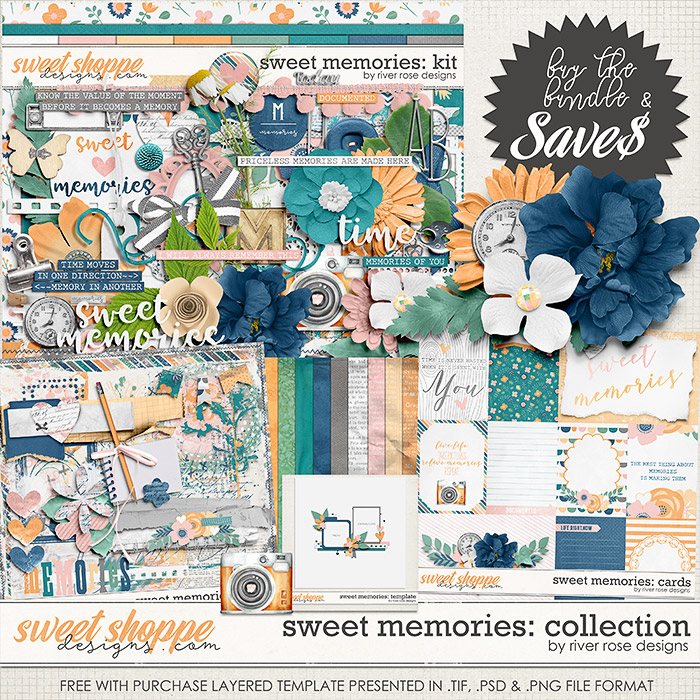Sweet Memories: Collection + FWP by River Rose Designs