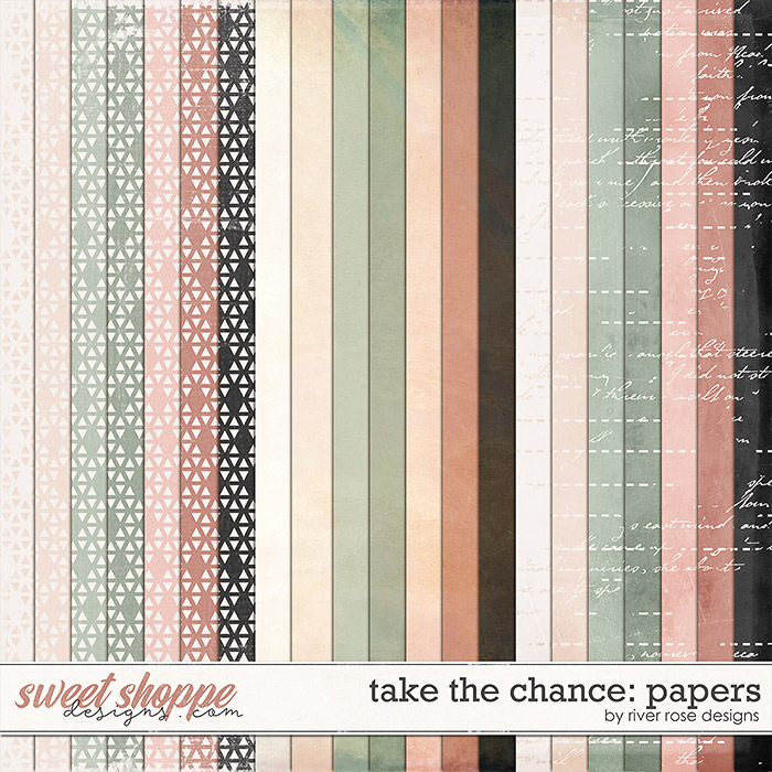 Take the Chance: Papers by River Rose Designs