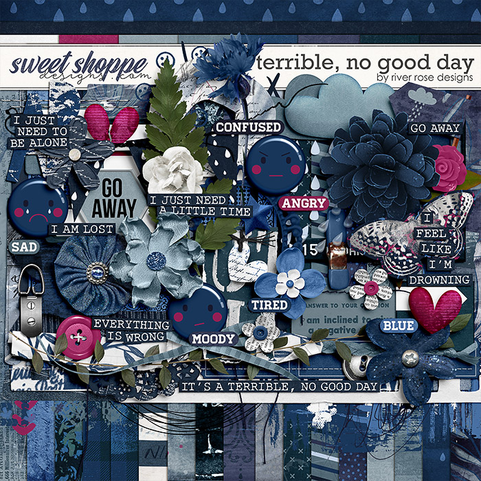 Terrible, No Good Day: Kit by River Rose Designs