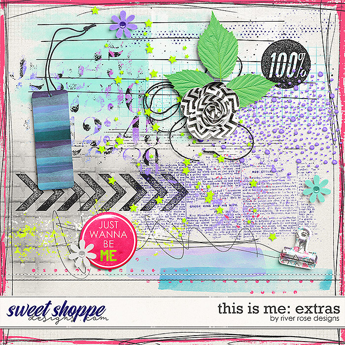 This is Me: Extras by River Rose Designs