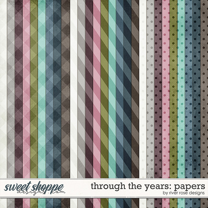 Through the Years: Papers by River Rose Designs
