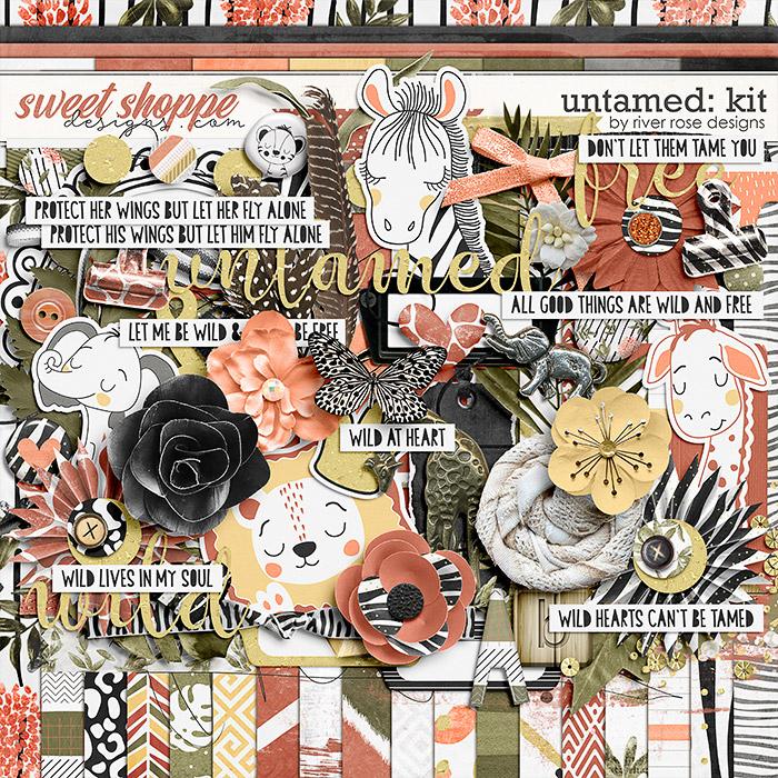 Untamed: Kit by River Rose Designs