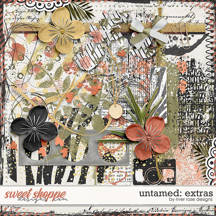 Untamed: Extras by River Rose Designs