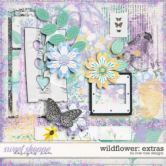 Wildflower: Extras by River Rose Designs
