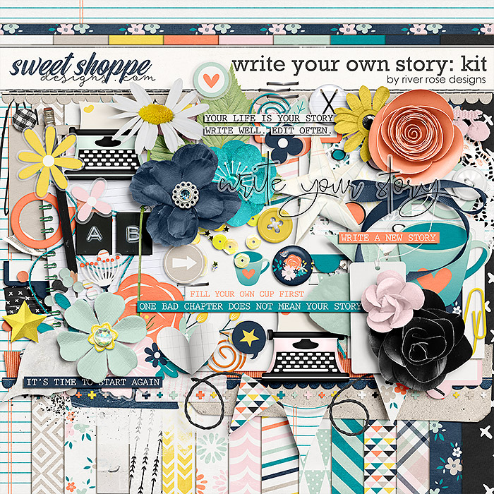 Write Your Own Story: Kit by River Rose Designs