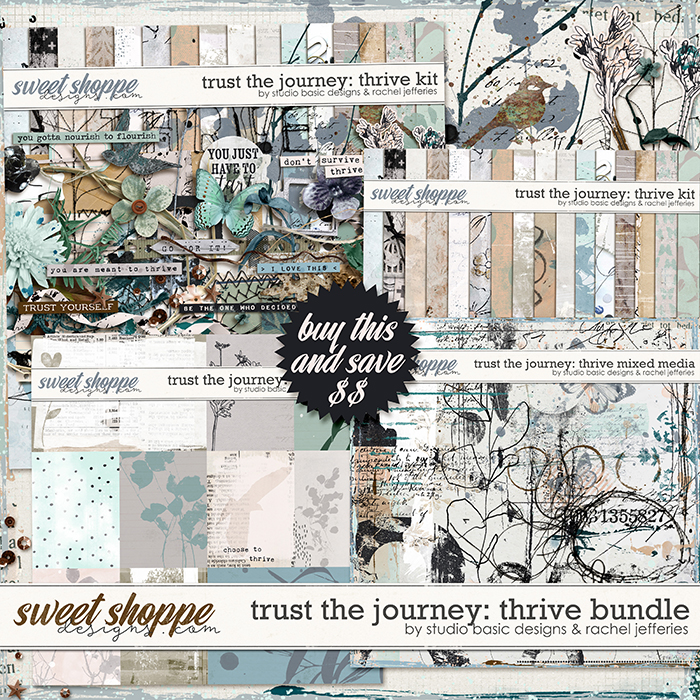 Trust The Journey Thrive Bundle by Studio Basic and Rachel Jefferies