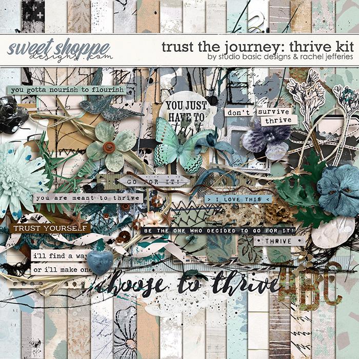 Trust The Journey Thrive Kit by Studio Basic and Rachel Jefferies