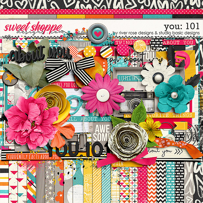 You: 101 Kit by River Rose Designs & Studio Basic Designs
