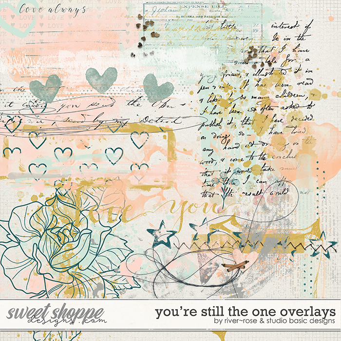 You're Still the One: Overlays by River Rose Designs & Studio Basic Designs