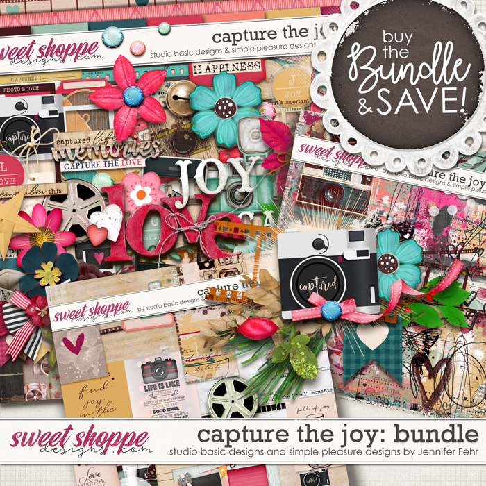 Capture The Joy Bundle by Simple Pleasure Designs and Studio Basic