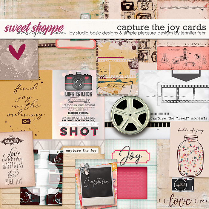 Capture The Joy Cards by Simple Pleasure Designs and Studio Basic