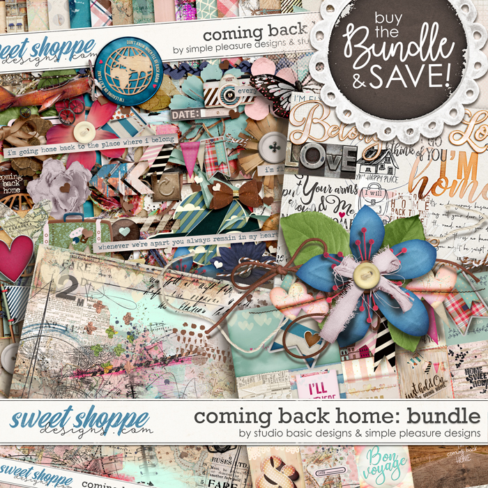Coming Back Home Bundle by Simple Pleasure Designs and Studio Basic
