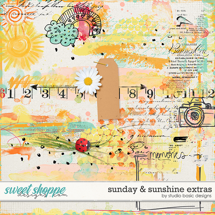 Sunday & Sunshine Extras by Studio Basic