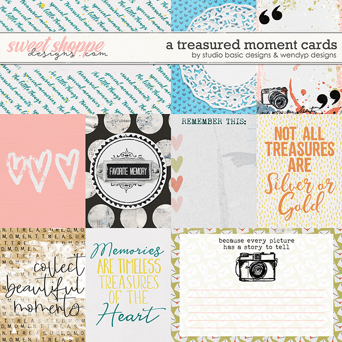 A Treasured Moment Cards by Studio Basic and WendyP Designs