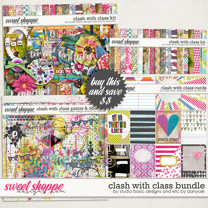 Clash with Class Bundle by Studio Basic and Etc By Danyale