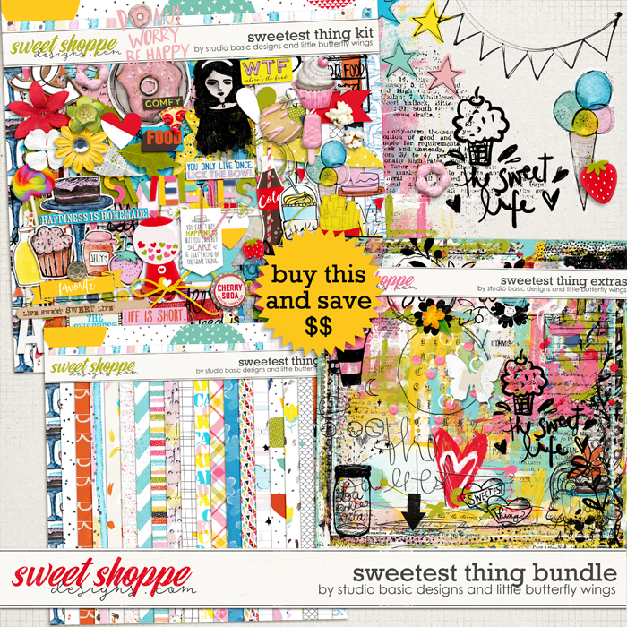 Sweetest Thing Bundle by Studio Basic and Little Butterfly Wings